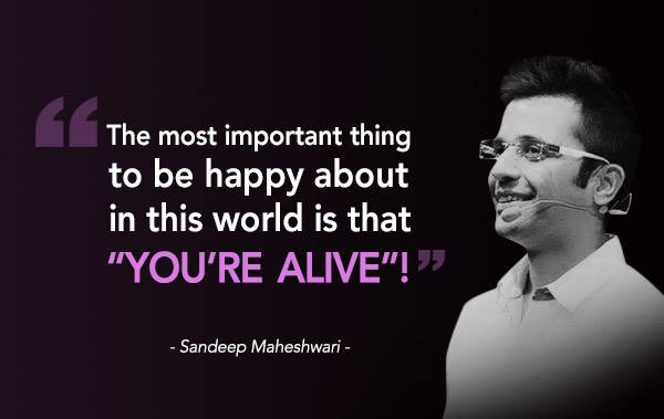 Top Most Popular YouTubers in India - Sandeep Maheshwari